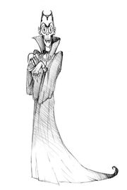 Count Blah sketch design