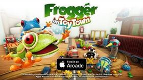Frogger in toy town Launch Trailer