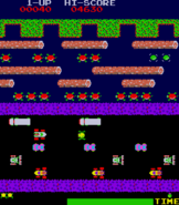 Frogger In Arcade