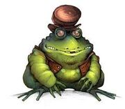 Lumpy the Toad