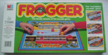 Frogger Board Game - Family version