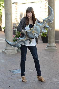 Veronica with Glaive