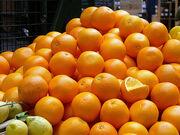 Oranges in The Borough market. London