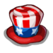 Uncle Sam Hat-icon