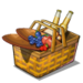 Fireworks Picnic Basket-icon