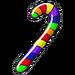 Rainbow Mini Cane-icon