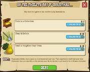 12 Days o' Christmas XII