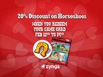 Horseshoe Discount Loading Screen