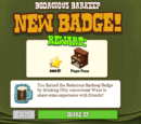 Bodacious Barkeep Badge