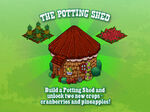 Potting Shed Loading Screen