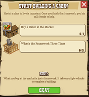 Start Building Your Cabin