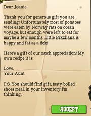 Aunt Letter 3