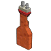 Cabin Brick Chimney-icon