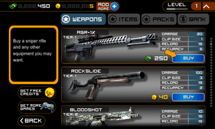 Frontline Commando Weapon store 1