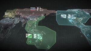 Front Mission Map (Left Alive)