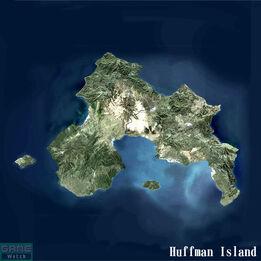 Huffman Island Map