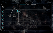 Exploration tech tree