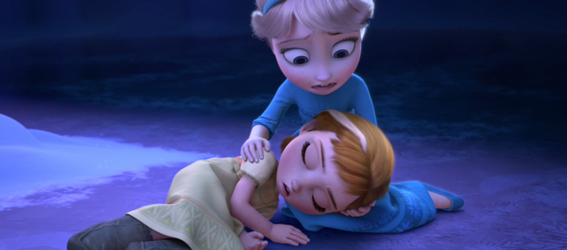 Elsa Was Horrified That She Had Hurt Anna With Her Magic