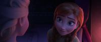 Anna comforts Elsa