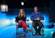 Jennifer Lee and Chris Buck