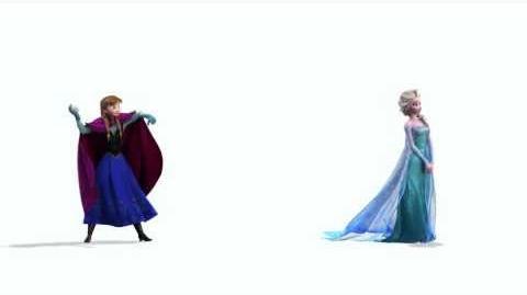 Disney's Frozen Anna y Elsa