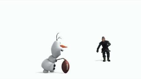 Disney's Frozen Olaf, Kristoff y Sven
