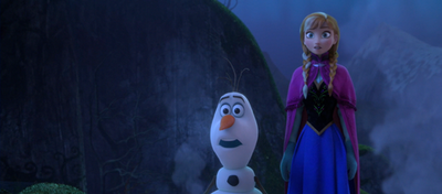 Olaf and Anna shocked