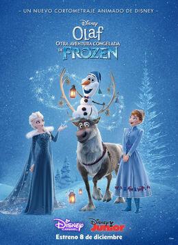 Olaf Otra Aventura Congelada de Frozen Poster3