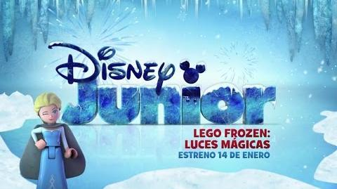 LEGO Frozen Luces mágicas - Estreno 14 de enero - Disney Junior Latinoamérica