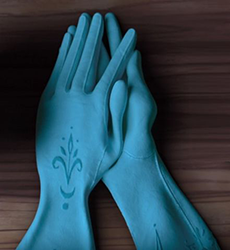 The Gloves That Elsa Wore At Her Coronation