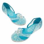 Elsa icy costume shoes