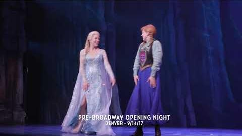 FROZEN Pre-Broadway Opening Night - Denver 9.14
