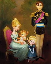 Royal family concept art