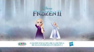 Canción exclusiva de la muñeca de Elsa inspirada en Frozen 2