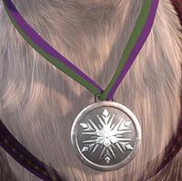 Sven's medal
