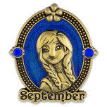 Anna Cameo Birthstone Pin -- September