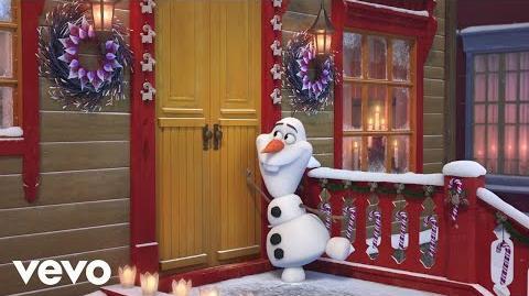 """Świąteczny czas (""""Kraina lodu-Zwiastun """"Kraina Lodu. Przygoda Olafa"""""""