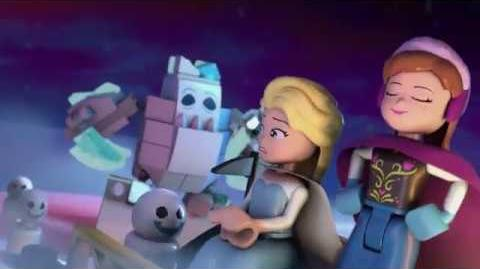LEGO Frozen Luces mágicas - Trailer 2 - Disney Junior Latinoamérica