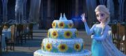 Elsa z tortem