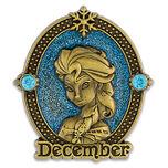 Elsa Cameo Birthstone Pin