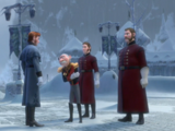 Hans' relationships