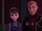 El Rey y la Reina de Arendelle