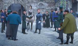 Hans asks for volunteers