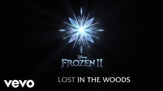 """Jonathan Groff - Lost in the Woods (From """"Frozen 2"""" Lyric Video)"""