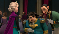 Elsa and dignitaries