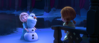 Olaf's first incarnation