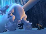 Assault on Elsa's ice palace