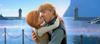 Anna and Kristoff kiss