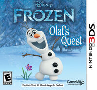 Olaf's Quest 3DS Cover