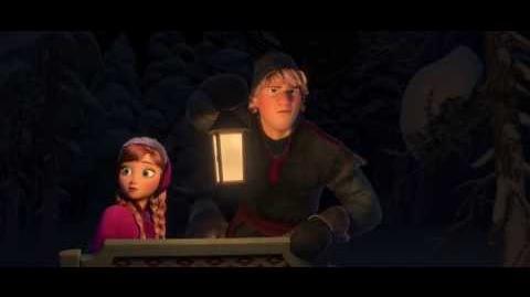 """Disney's Frozen """"Wolf Chase"""" Clip"""
